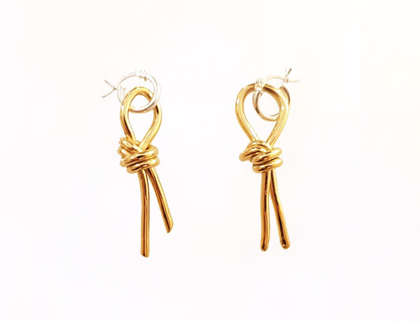 kesher earrings