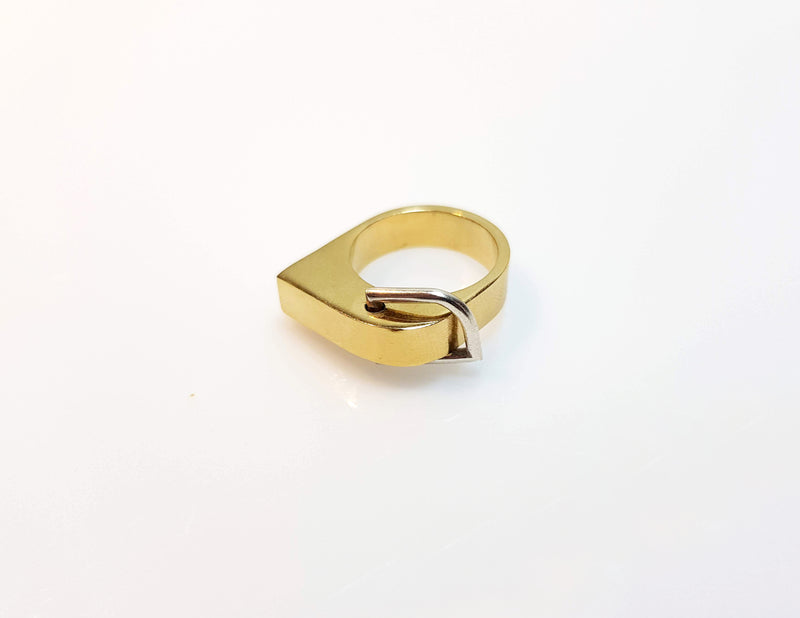 Link Ring//Gold