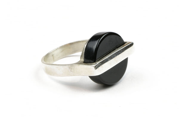 Black Saturn Ring