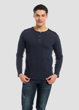 Men´s long sleeved top in certified organic cotton