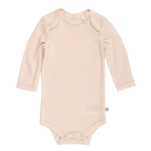Woolly baby body organic merino wool