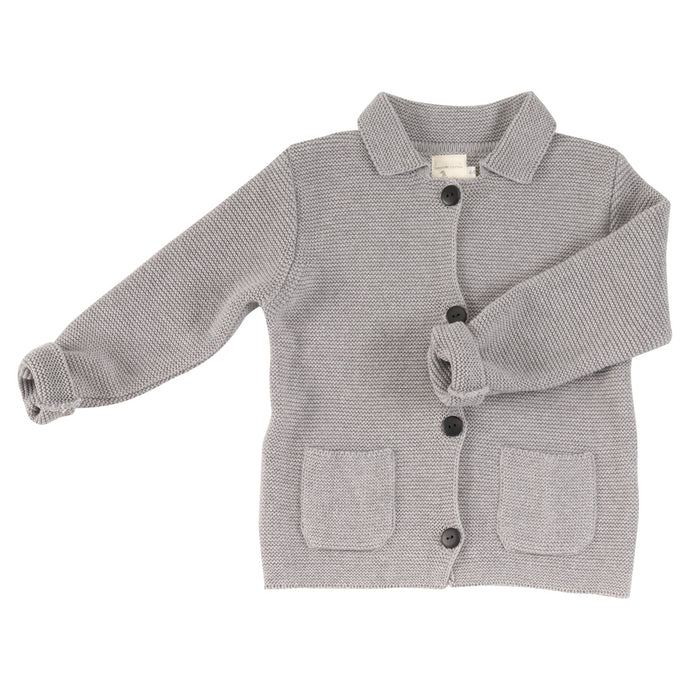 Chunky knit cardigan organic cotton