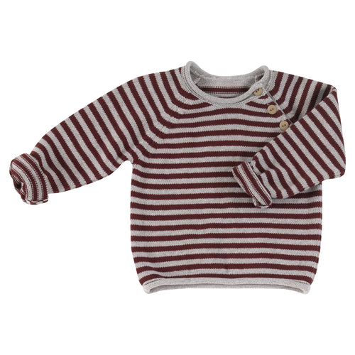 Children's Knitted Jumper in Organic Cotton