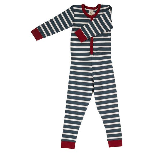 Kids onesie with buttons in organic cotton