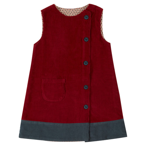 Girls manchester dress organic cotton