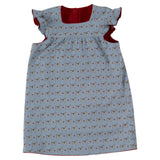 Baby´s Winter Shift Dress