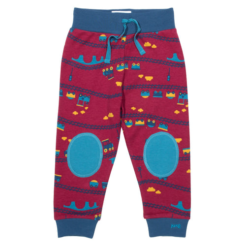 Leggings for baby boy in organic cotton