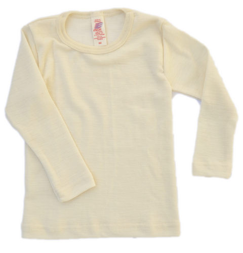 Virgin organic wool top for children