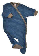 One-piece organic wool for baby