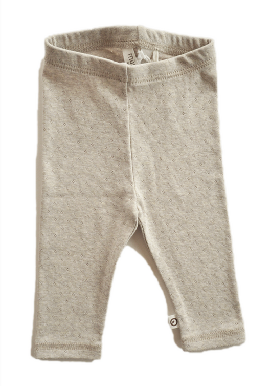 Night time bottoms for baby in organic cotton