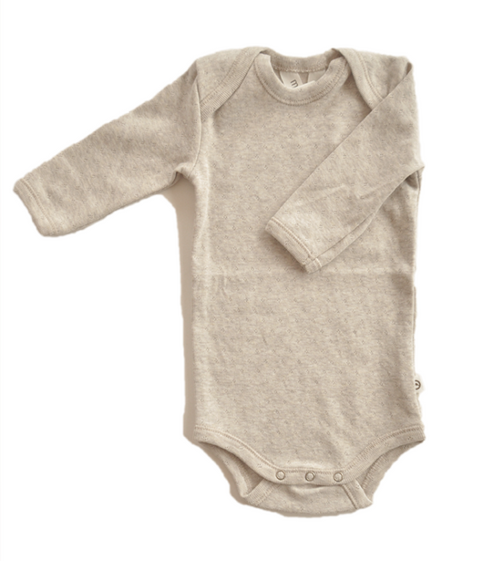 Night time baby-body in organic cotton