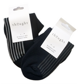 Set of 2 Bamboo Ankle Socks