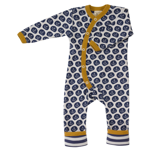 Baby romper in organic cotton