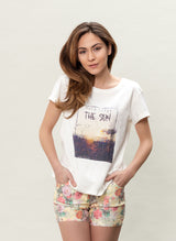 Quality organic cotton summer T-shirt
