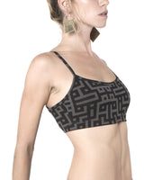 Yoga bra in organic cotton