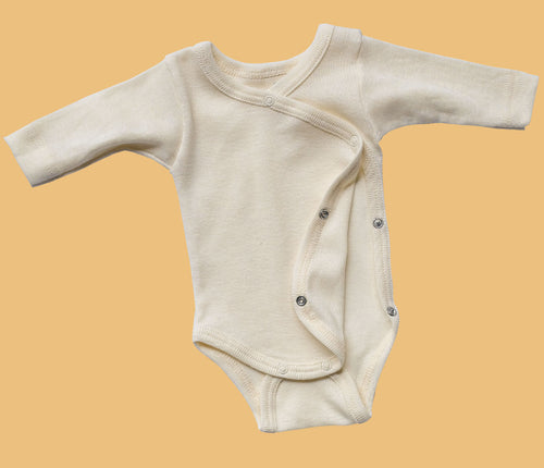 Wool/Silk Baby-Body