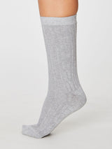Lenore Cotton Cable Socks