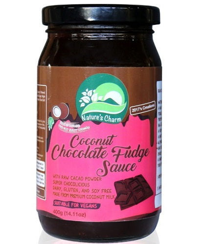 Nature's Charm Coconut Chocolate Fudge Sauce 400g