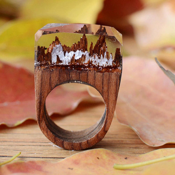 Magical Forest Resin Ring