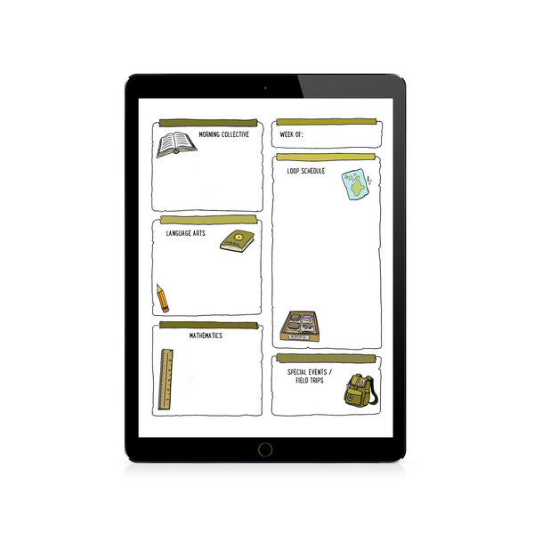 Weekly Lesson Planning Template