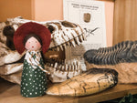 Mary Anning Fossil Hunter Peg Doll Set