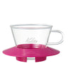 Glass Wave Dripper 155 (CherryPink)