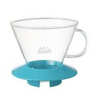 Glass Wave Dripper 185 (Peppermint) Kalita Wave Dripper
