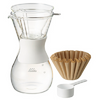 Wave Style 185 Set Glass Dripper and Carafe
