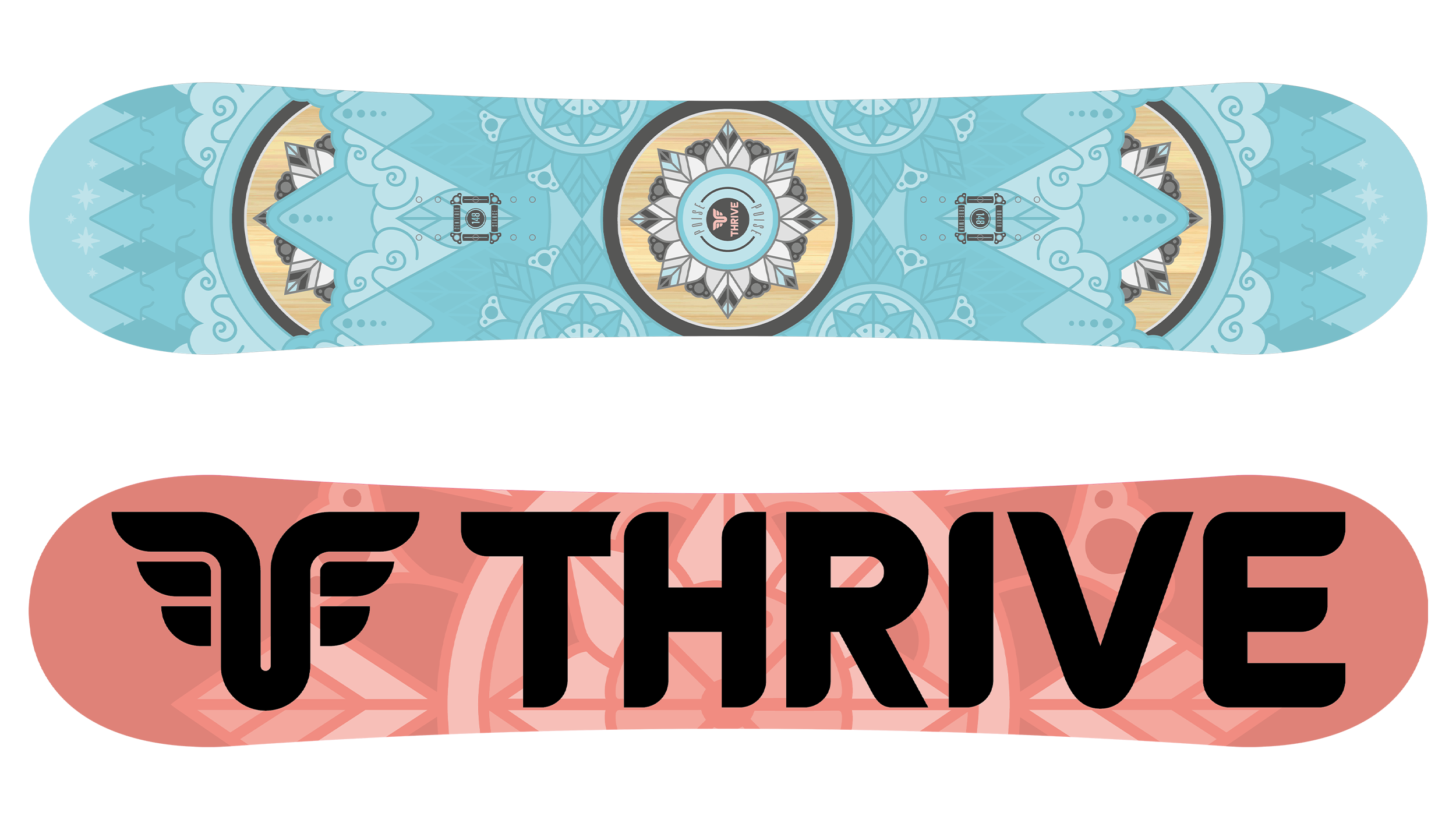 Thrive Poise Snowboard