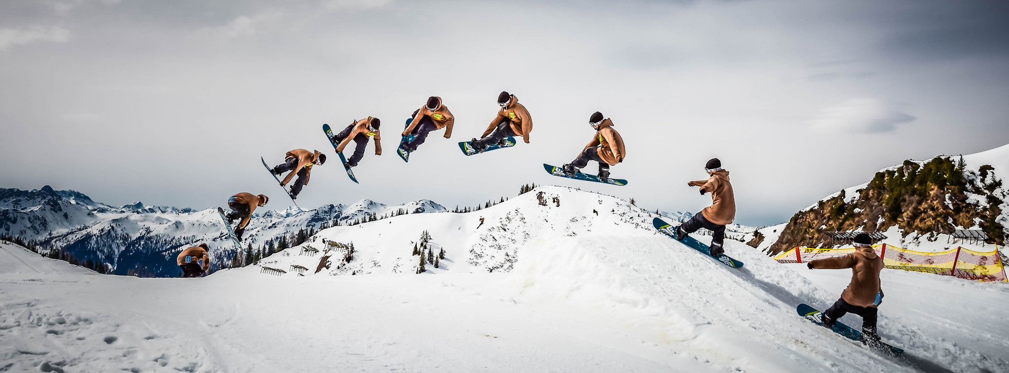 Time to learn your next snowboard trick! Photo: Wolf Wieser