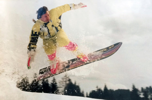 Patrick Pitter's Dad Shredding Back in the Day!