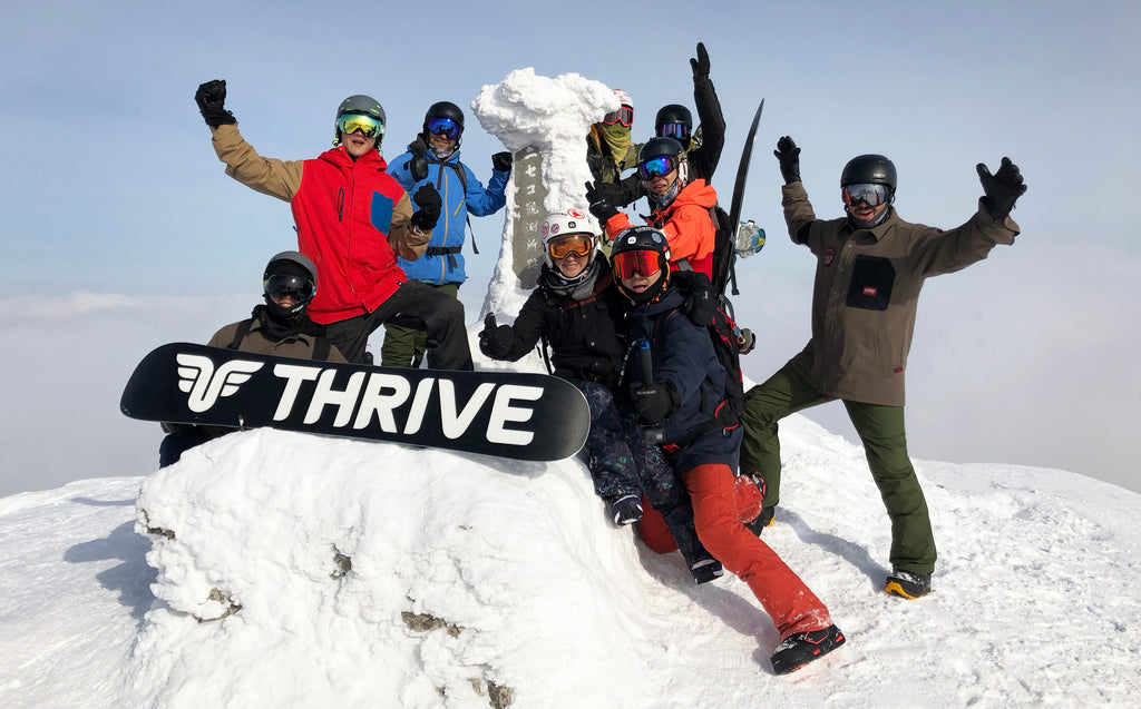 Thrive International Snowboard Camps - Intro to Backcountry - Hokkaido, Japan