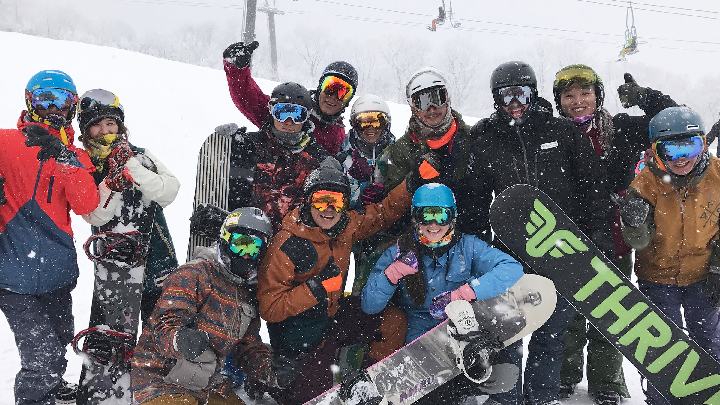 Thrive Snowboard Coaches