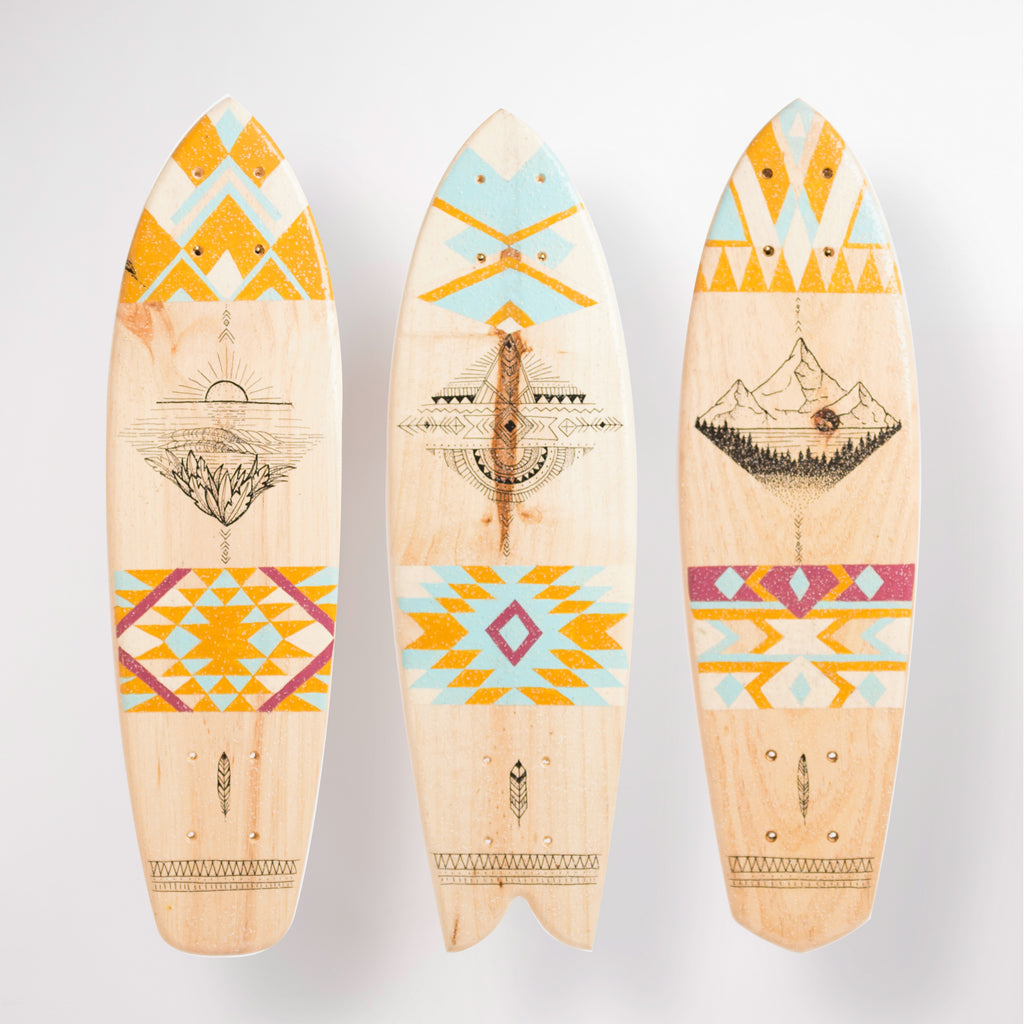 Flor De Pampi - Surfboard Artwork