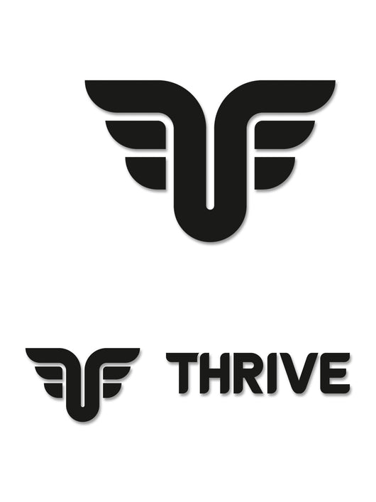 THRIVE DIE CUT STICKERS