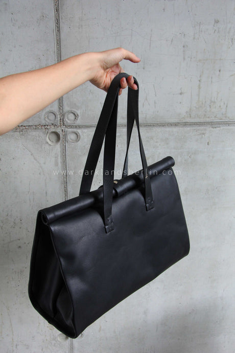 m.a+ Rolled Closed Double Handle Bag