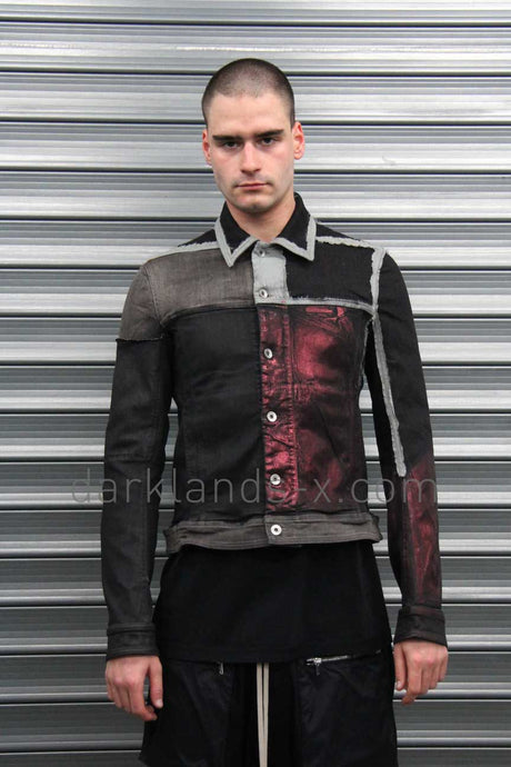 DRKSHDW Patchwork Worker Jacket