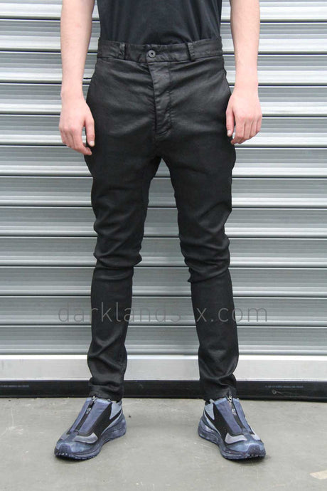 11byBBS Coated Drop Crotch Pants