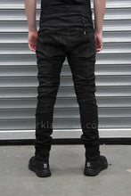 Boris Bidjan Saberi 'Techno Punk' Vinyl Coated, Nickel Pressed Tight Fit Trouser
