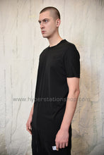 11byBBS Embroidered T-Shirt, Black