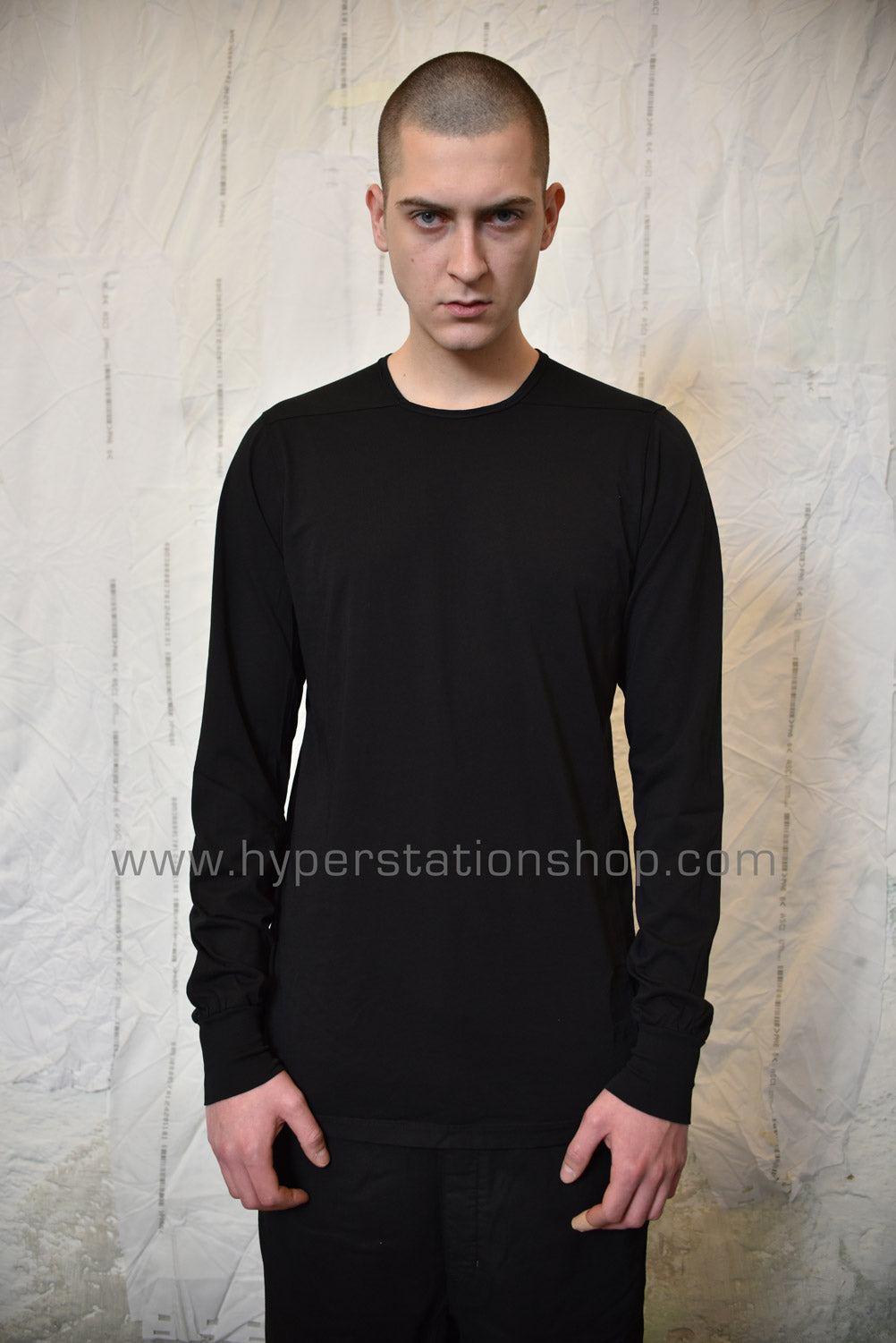 DRKSHDW LS Level Tee, Black