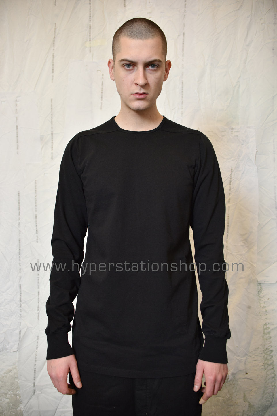 DRKSHDW Thick LS Level Tee, Black