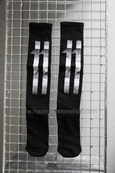 11byBBS Blockstripes Socks, Black