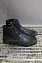 Both Patched High Top Sneaker, Black