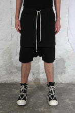DRKSHDW Kilt Shorts, Black