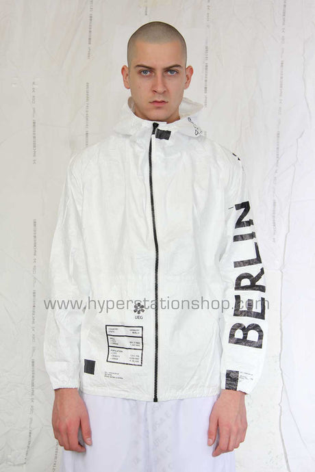 UEG Berlin Zip-Up Jacket, White