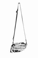 INNERRAUM Clutch Cross Body Bag, Silver