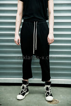 DRKSHDW Thin Cropped Drastring Pants