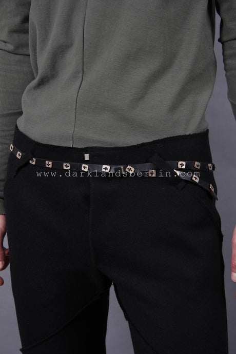 m.a+ Belt With Silver buttons