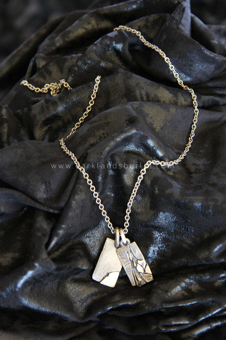 Tobias Wistisen - Fractured pendants necklace